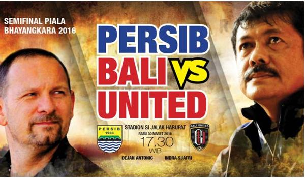 Bali United Lawan Sriwijaya FC Rebut Juara 3 Bhayangkara Cup 2016