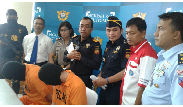 Petugas Bea dan Cukai Tangkap Warga Asing Upaya Penyelundupan Narkotika