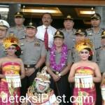 Kunjungan Kapolri Ke Polda Bali