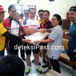 Kapolresta Denpasar Berserta Jajarannya Kunjungan Ke SLB B PTN Di Jimbaran