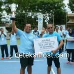 Korem 162/WB Juara satu Turnamen Tenis Lapangan PLN Cup