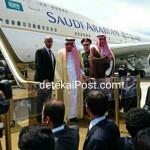 Raja Salman Di Bandara Ngurah Rai Menuju Jepang