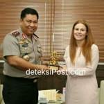 Kedatangan Rombongan Royal Canadian Mounted Police Di Kapolda Bali