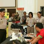 Waka Polda Bali Pengawasan Langsung Pemeriksaan Tahap I Jalur AKPOL