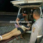 Knight Ella Makeesha 26Bule Asal Australia Kecelakaan Tunggal Tewas