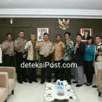 Kerjasama Dengan Polda Bali dibidang Seni Beladiri Karate