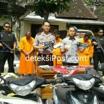 Pelaku Curamor Ditangkap Tim Reskrim Polsek Denpasar Barat