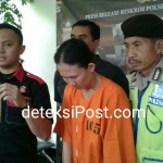 Team Reskrim Polsek Denbar Amankan Tersangka Pencuri Gelang Emas