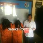 Satuan Reserse Narkoba Polresta Denpasar Menangkap 2 Perempuan Pengguna Narkoba