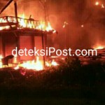Kebakaran Terjadi Di Vila Tamu Seseh Di Br Sogsogan Mengwi
