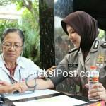 Polda Bali Gelar Donor Darah Menyambut Hari Jadi Polwan Ke-69