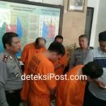 Empat Pelaku Penipuan dan Pencurian Asal Padang Diringkus Reskrim Polsek Kuta