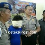 Anggota Kawasan Laut Benoa Amankan Pencuri Hp Di KM Nelayan Jaya
