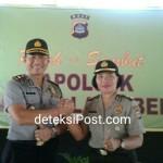 Pisah Sambut Kapolsek Kawasan Laut Benoa dari Pejabat Lama Kepada Pejabat Baru