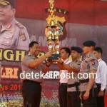 Kapolda Bali Memberikan Apreasiasi Kepada Anggota TNI/Polri Yang Berprestasi