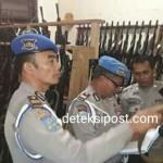 Propam Polda Bali Cek Senpi Anggota