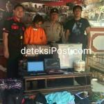 Polisi Tangkap Residivis Melakukan Pencurian di 7 TKP