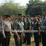 Danrem 163/Wira Satya Cek Kesiapan  Pasukan Kunjungan Kerja Presiden RI