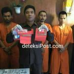 Ketiga Pelaku Penguna dan Pengedar Narkoba tangkap Resnarkoba