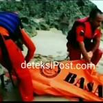 Korban Terseret Ombak Di pantai Tegal Wangi ditemukan Team Basarnas