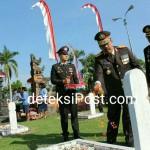 Wakapolda Bali Ziarah ke Makam Pahlawan Pancaka Tirta Tabanan