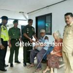 Kunjungi Veteran Dandim Jembrana Pererat Tali Silaturahmi