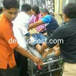 Korban dua Orang Tersengat Listri Di Belakang Restaurant Red Rudy
