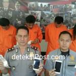 Team Opsnal Polsek Denbar Tangkap Pencuri di 7 (tujuh) TKP
