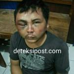 Team Reskrim Polsek Denbar Ringkus Pencuri Rokok Di Warung