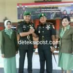 Serah Terima Jabatan Komandan Kodim 1611 di Aula Makorem 163/Wira Satya