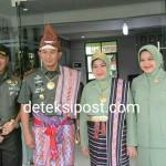 Pangdam IX/Udayana Kunker Perdana Di Wilayah Korem 161/Wira Sakti.
