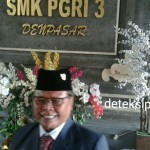 Hari Ulang Tahun SMK PGRI 3 Denpasar Ke-18 Secara Sederhana