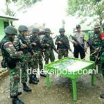 Sinergitas  TNI-POLRI dalam Patroli Gabungan di Wilayah Perbatasan.