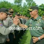 RI I Kunjungi Bali, Kodam Gelar Apel Kesiapan Pengamanan.