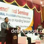 Seminar Internasional Tentang Praktik Terbaik Dalam Menangani Terorisme