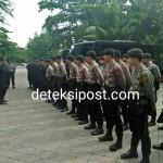 Satgas III Polda Bali Siap Amankan, Tindak Lakukan Penyekatan Kegiatan Kedua Paslon.