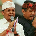 Cagub-Cawagub, Pasangan Koster-Ace. Didukung Warga Bali Perantau.