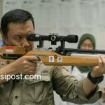 Menpora Meninjau Pelatnas Menembak di Lapangan Tembak Senayan