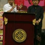 Seorang Mahasiswa Uji Publik Pilgub Bali 2018 Kepada Calon Gubernur Wayan Koster