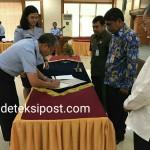 Pencanagan Pembanguna Zona Integritas dan Penandatanganan Pakta integritas