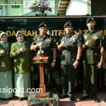 Pangdam IX/Udayana Resmikan Detasemen Kavaleri 4/Simha Pasupati