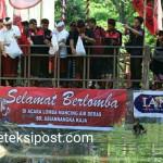 Wayan Koster Membuka Lomba Mancing Air Deras di Tukad Bindu Denpasar Timur