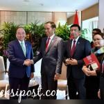 Presiden Gelar Pertemuan Bilateral dengan PM Vietnam