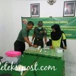 Cegah Penyalahgunaan Narkoba Personel Denbekang IX-44-03 Denpasar Dites Urine