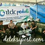 Petinggi TNI-Polri Pastikan Bantuan Sampai Di Lombok