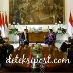Presiden Joko Widodo Terima Kunjungan Kenegaraan Presiden Republik Namibia