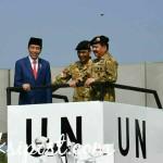 Presiden Jokowi Berangkatkan Pasukan Perdamaian Indonesia ke Kongo dan Lebanon