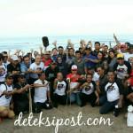 Pelaksanaan World Clean Up Day 2018 di Pantai Kuta