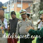 Kapolda Bali Ajak Bersama Ciptakan Kamtibmas Kunjungan Silaturahmi di Puri Mengwi