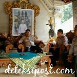 Jelang IMF-WB Annual Meeting 2018 Kapolda Bali Kunjungan di Pengelingsir Puri Ageng Mengwi